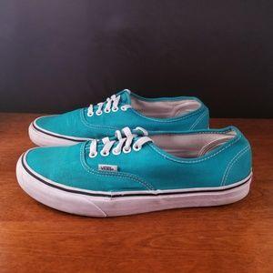 Vans Mint Boat shoes